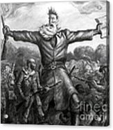 John Brown, American Abolitionist Acrylic Print by Photo Researchers