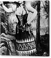 Lillian Russell (1861-1922) Acrylic Print