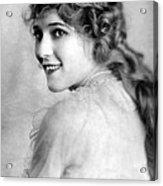 Mary Pickford, Ca. 1918 Acrylic Print