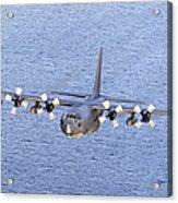 Mc-130p Combat Shadow In Flight Acrylic Print