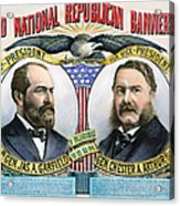 Presidential Campaign, 1880 Acrylic Print