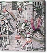 Saladin (1138-1193) Acrylic Print