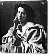 Sarah Bernhardt Acrylic Print