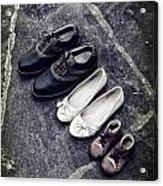 Shoes Acrylic Print by Joana Kruse