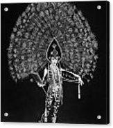 Silent Film Still: Costume Acrylic Print