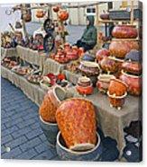 Spting Faire In Vilnius Lithuania Acrylic Print