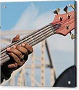 5-string Bass Acrylic Print