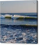 Surfers Make The Ocean Better Series Acrylic Print