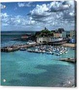Tenby Harbour Acrylic Print
