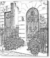 The Doors Of London Acrylic Print