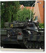 The Leopard 1a5 Mbt Of The Belgian Army Acrylic Print
