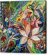 The Magic Garden Acrylic Print by Elena Kotliarker