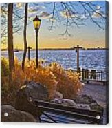 View From Battery Park City Acrylic Print
