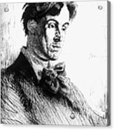 William Butler Yeats Acrylic Print