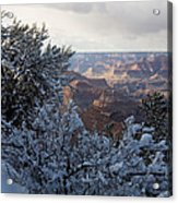 Winter Time On The South Rim Acrylic Print