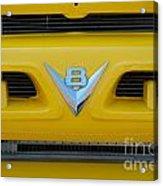 53 Ford Truck Acrylic Print