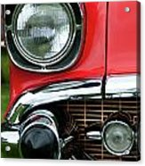 57 Chevy Right Front 8561 Acrylic Print