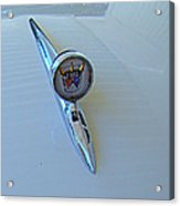 57 Fairlane 500 Emblem Acrylic Print
