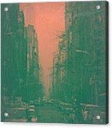 5th Avenue Acrylic Print
