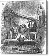 Arkansas: Hot Springs, 1878 Acrylic Print