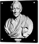 Baron De Montesquieu Acrylic Print