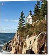 Bass Harbor Lighthouse Acrylic Print
