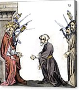Charlemagne (742-814) Acrylic Print