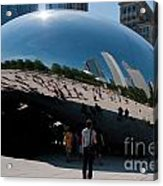Chicago City Scenes Acrylic Print
