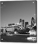 City Of London Skyline Acrylic Print