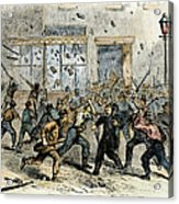 Civil War: Draft Riots Acrylic Print