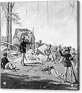 Civil War: Gettysburg Acrylic Print