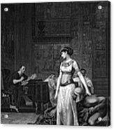 Cleopatra Vii (69-30 B.c.) Acrylic Print