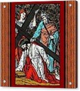 Drumul Crucii - Stations Of The Cross  Acrylic Print