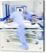Emergency Hospital Treatment Acrylic Print