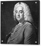 George Frederick Handel Acrylic Print