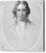 Harriet Beecher Stowe Acrylic Print