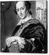 Horace Walpole (1717-1797) Acrylic Print