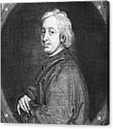 John Dryden (1631-1700) Acrylic Print