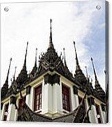 Loha Prasat The Metal Palace Acrylic Print