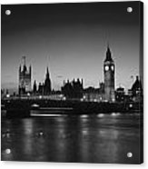 London  Skyline Big Ben Acrylic Print