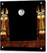 Midnight In Santa Fe Acrylic Print