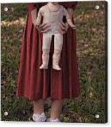 Old Doll Acrylic Print