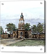 Philadelphia State House Acrylic Print