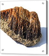 Rock From Meteorite Impact Crater Acrylic Print
