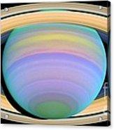 Saturn Acrylic Print