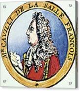 Sieur De La Salle Acrylic Print
