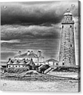 St Marys Lighthouse Acrylic Print