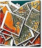 The Art Abstract  Acrylic Print