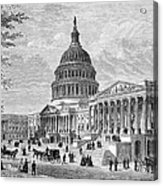 U.s. Capitol Acrylic Print