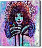 Vintage Hair Comb Acrylic Print